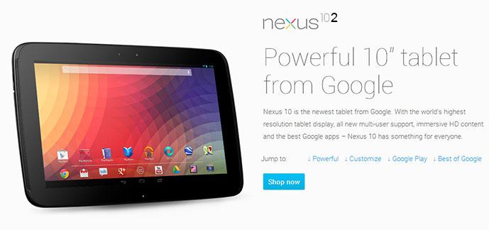 Nexus 10.2