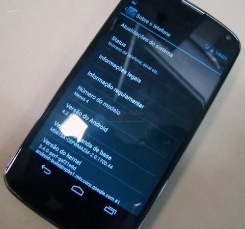 nexus4  android4.2.2