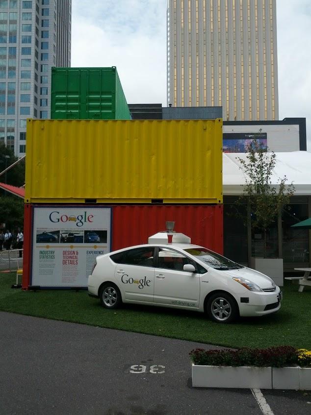 Самоуправляемый автомобиль Google