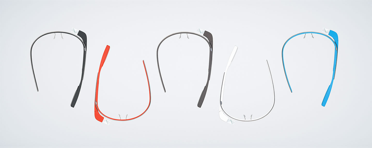Google Glass colors