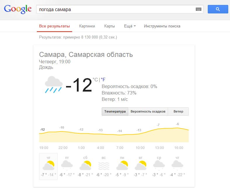 weather google