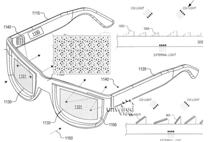 google glass patent application