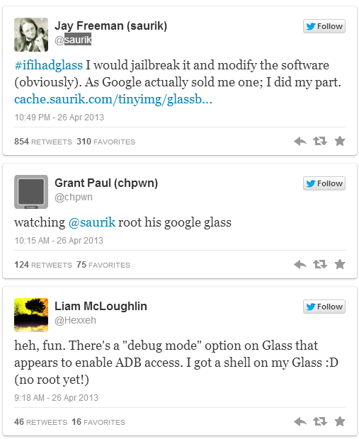 root glass twits