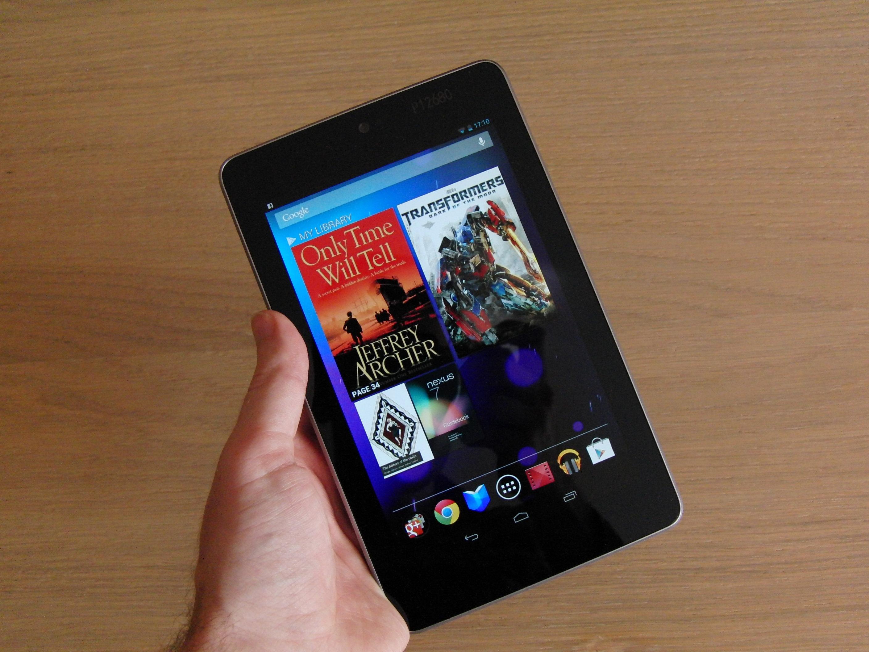 Nexus 7 hand