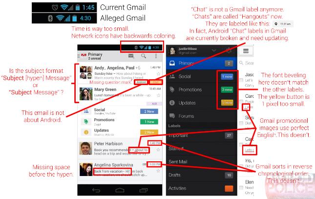 gmail tab user interface web