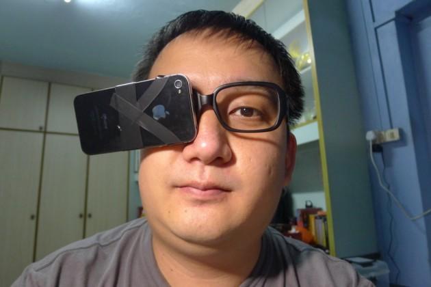 iPhone Google Glass