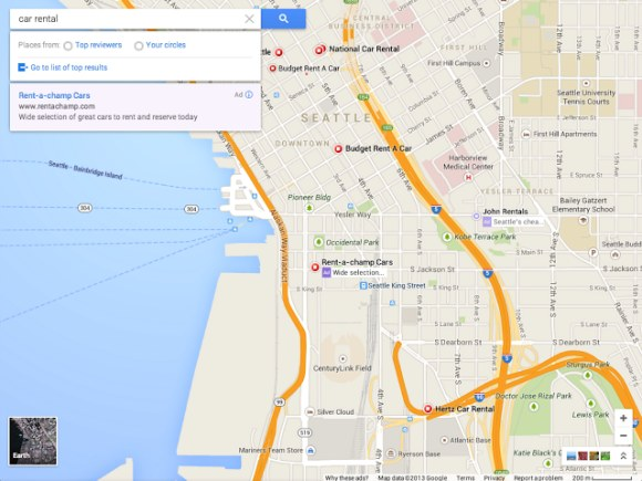 new google maps 2