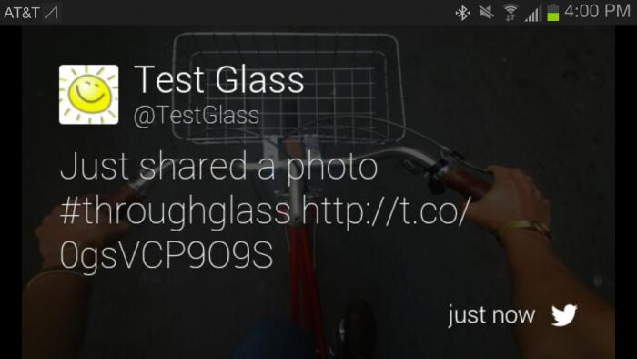 twitter glass