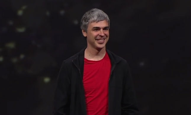 Larry Page IO 2013