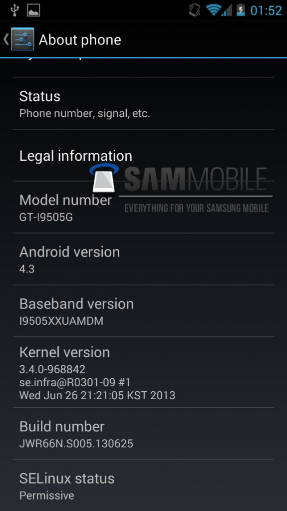 android 4.3 jelly bean galaxy s4 google edition 2