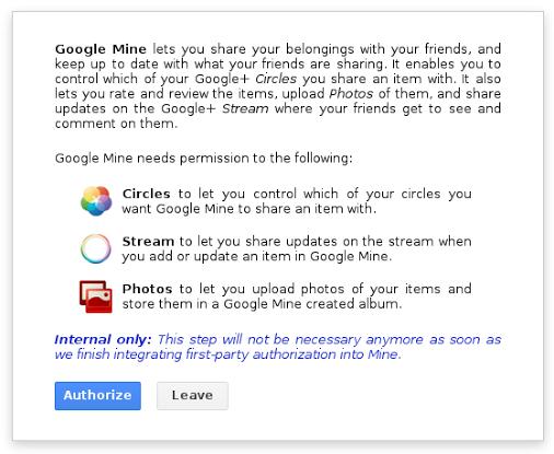 google mine