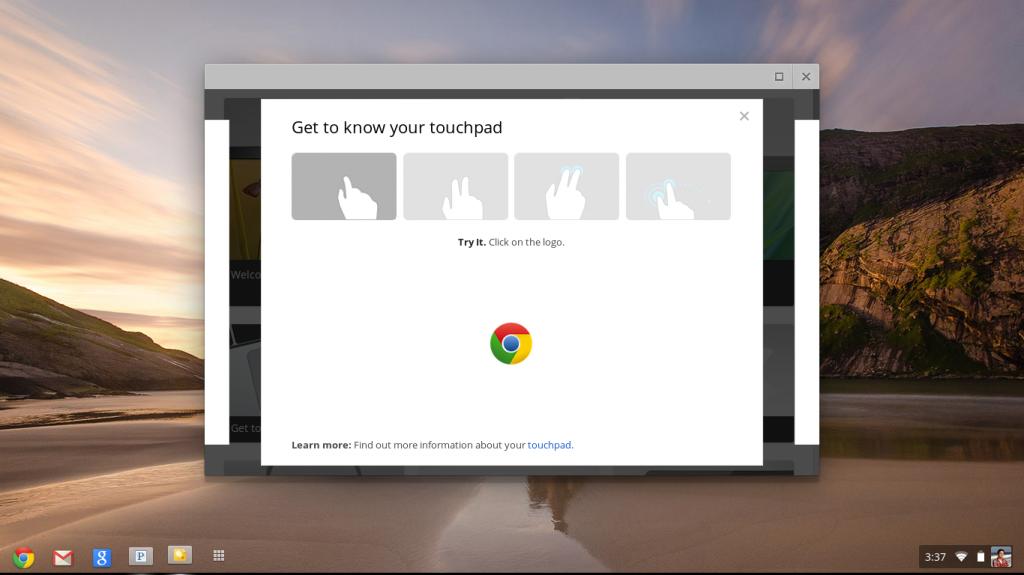 Chrome OS touch