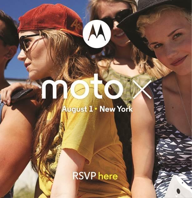 Moto X 1 august