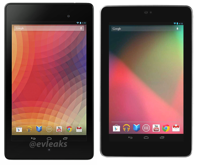 new vs old nexus 7