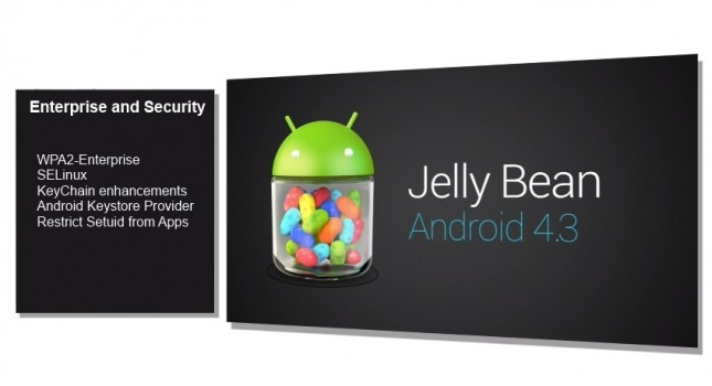 Android 4.3 security