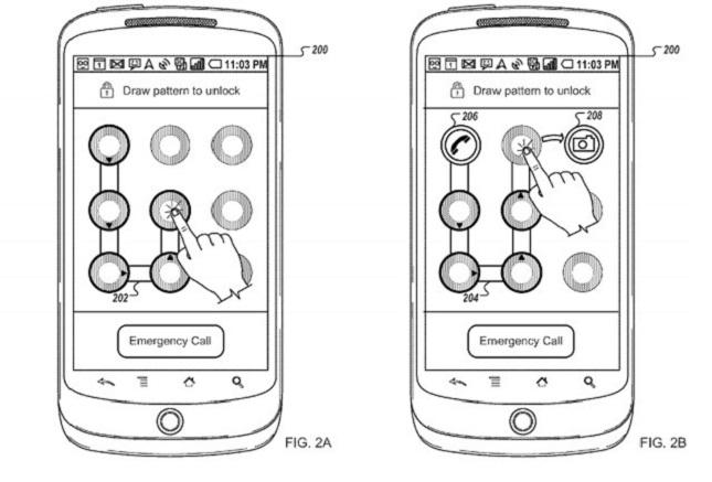 patent unlock swipe