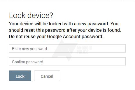 lock device ADM