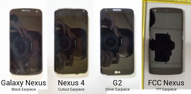 nexus missing earpiece