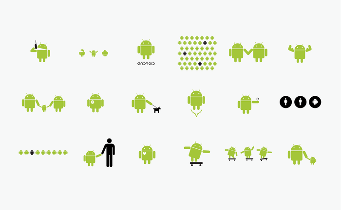 Android logo Blok