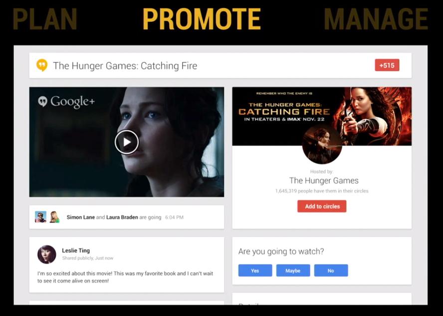 Hangouts promote