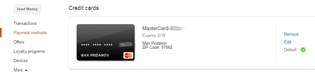wallet cc good