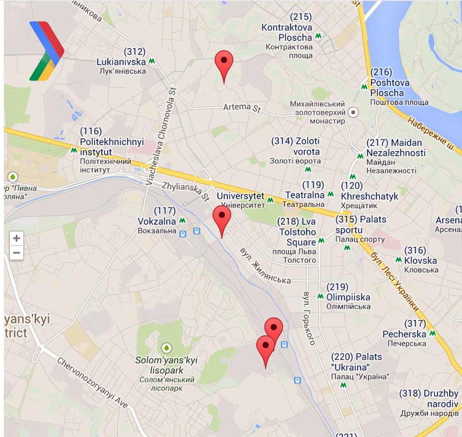 DevFest Locations
