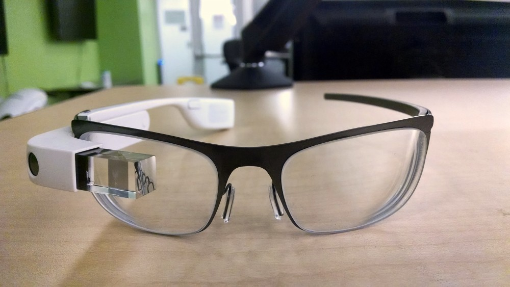 Google Glass prescription prototype