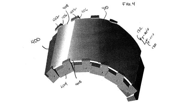 Motorola flexible watch patent