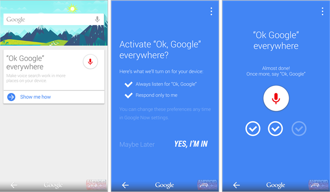 Google now everywhere