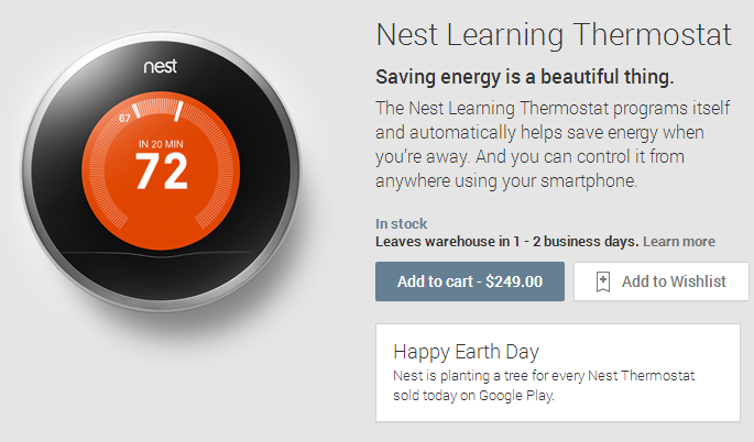 Nest Google Play
