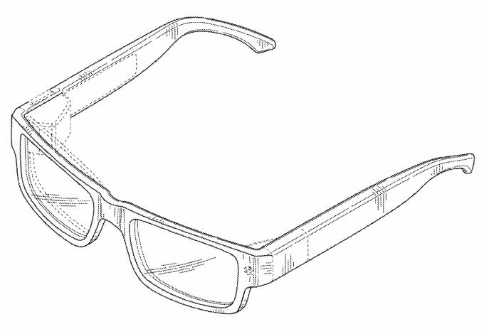 gogle glass patent