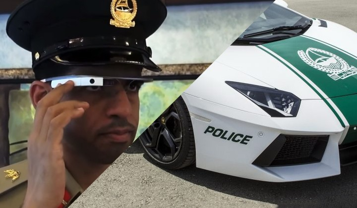 dubai cops glass