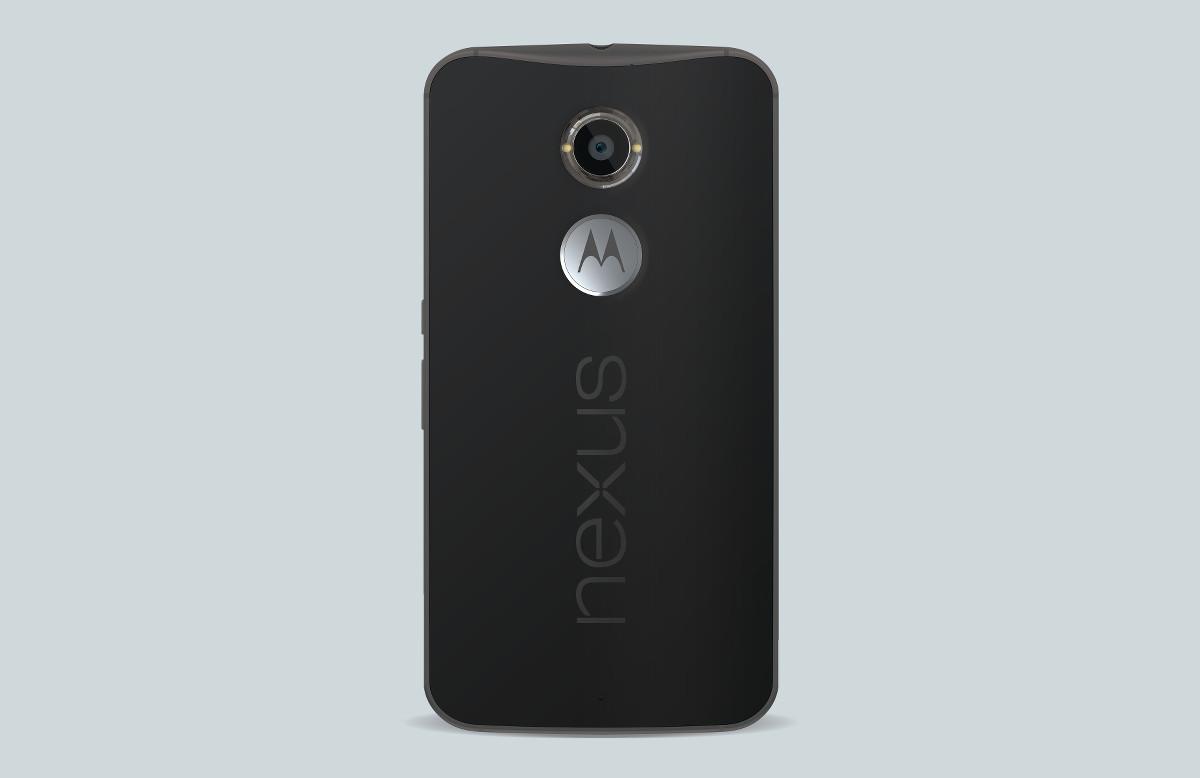 nexus 6 black back