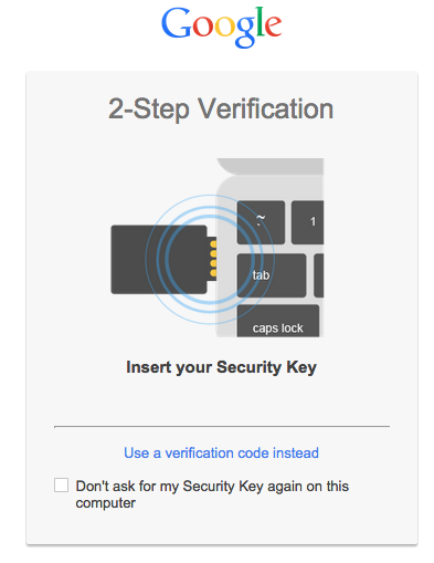 security key google