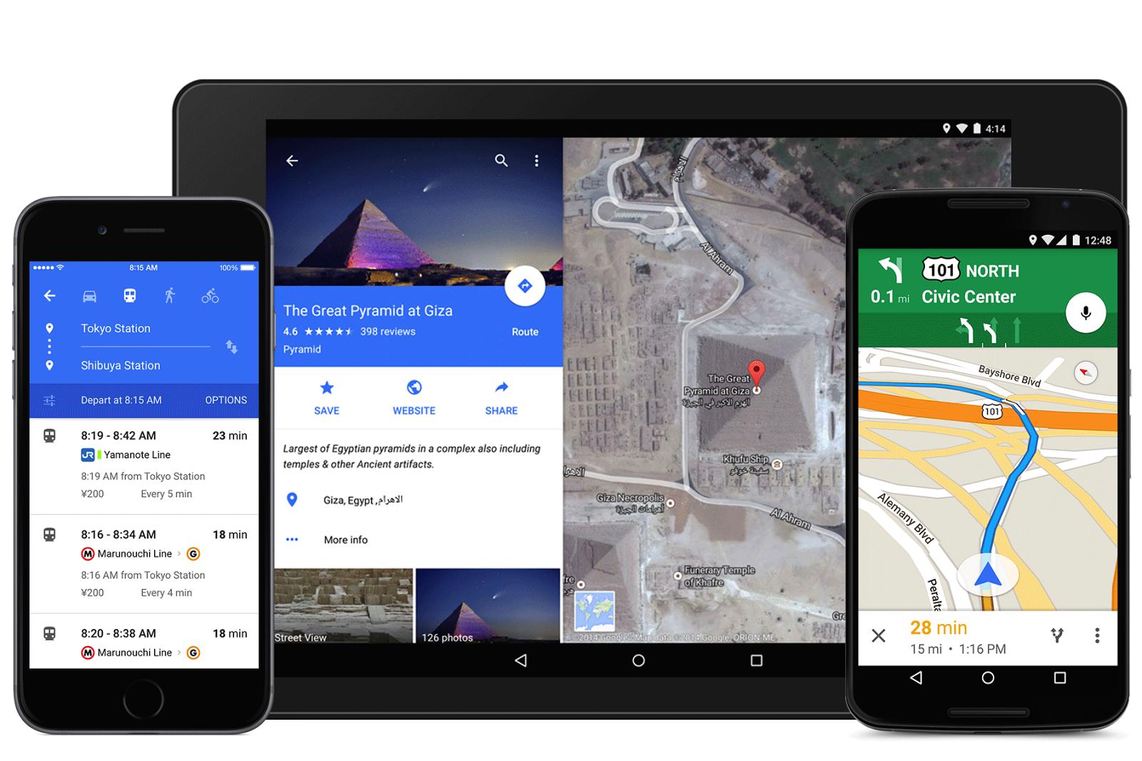 Google Maps 9 material