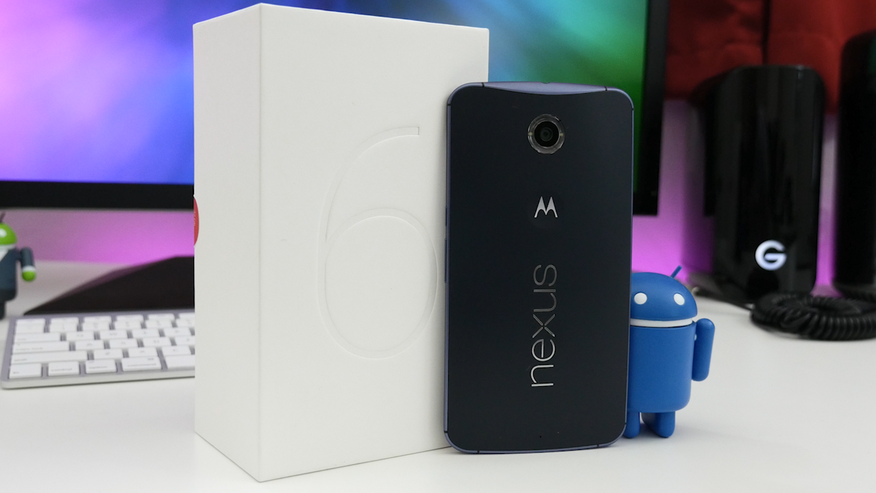 nexus 6 android blue